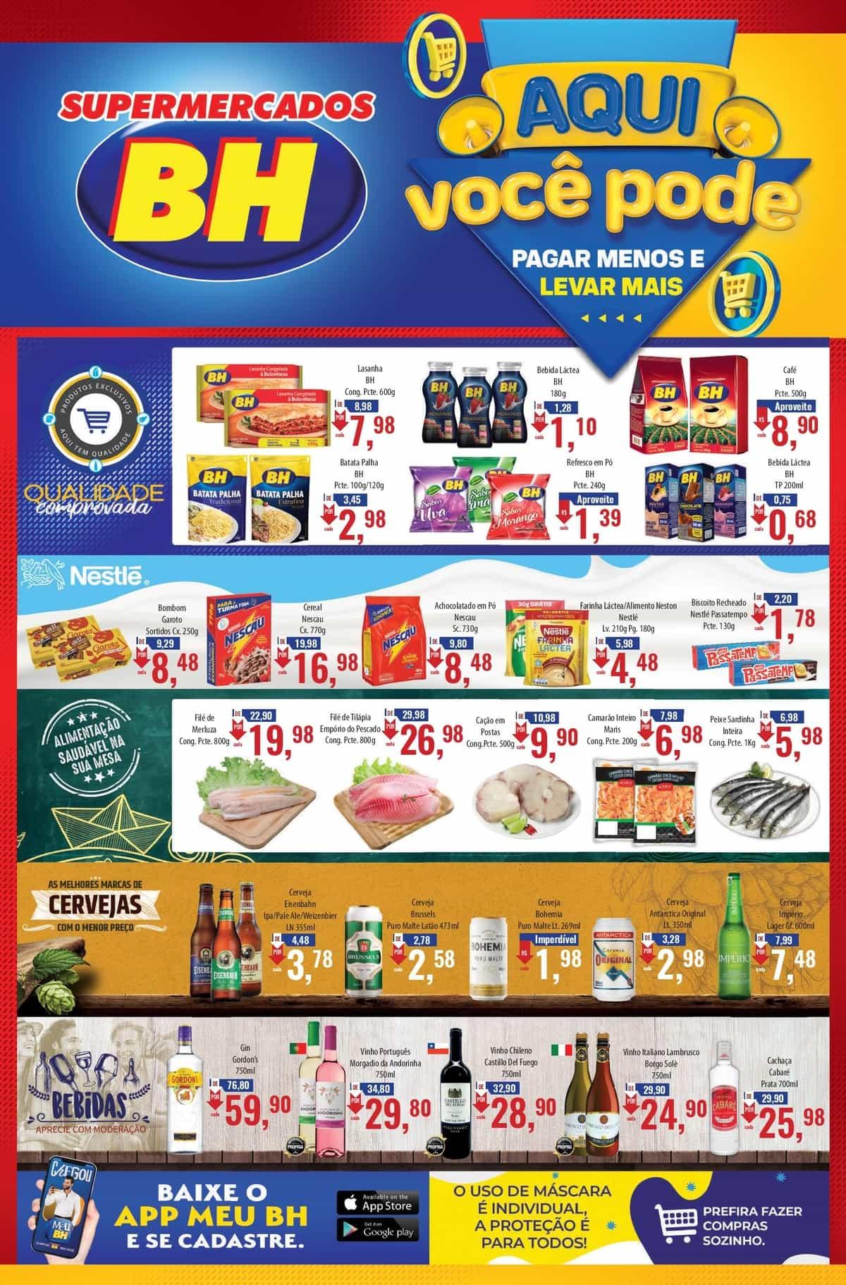 Ofertas Supermercados BH até 20/09
