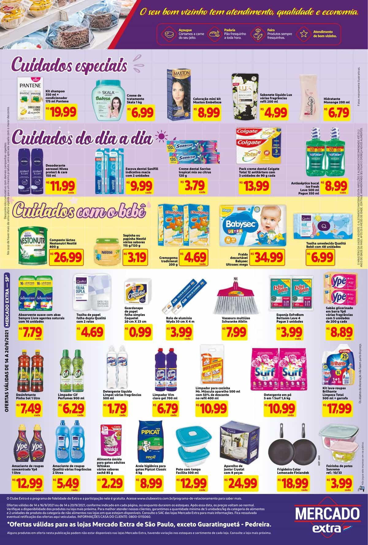 Encarte Extra até 20/09