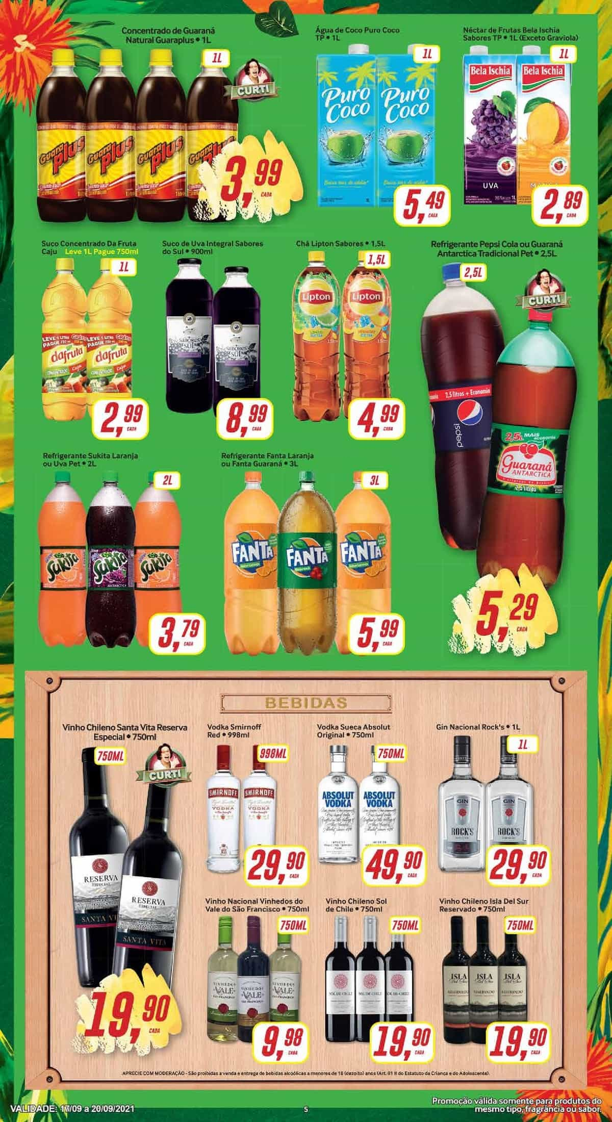 Encarte Supermarket até 20/09