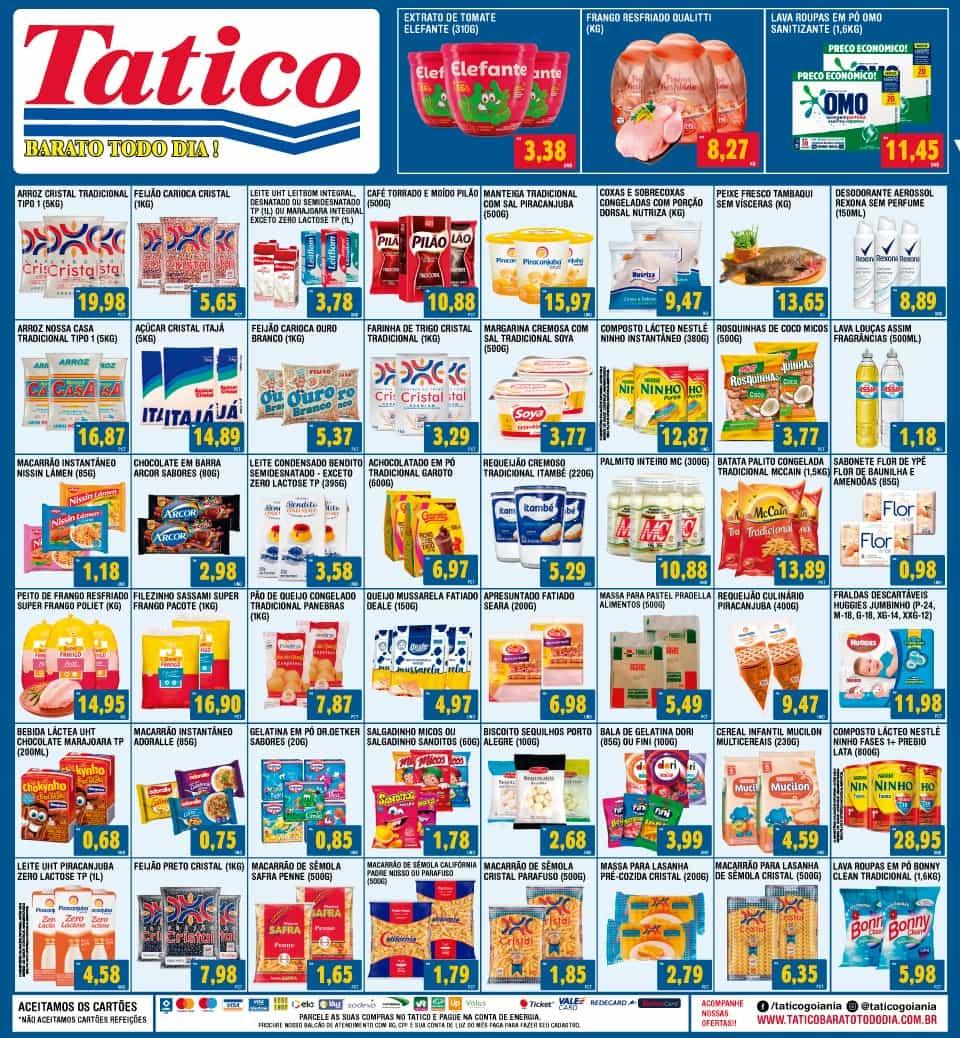 Ofertas Tatico até 18/09